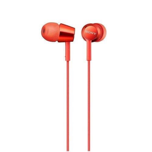 Sony MDR-EX155AP Headphones - Red