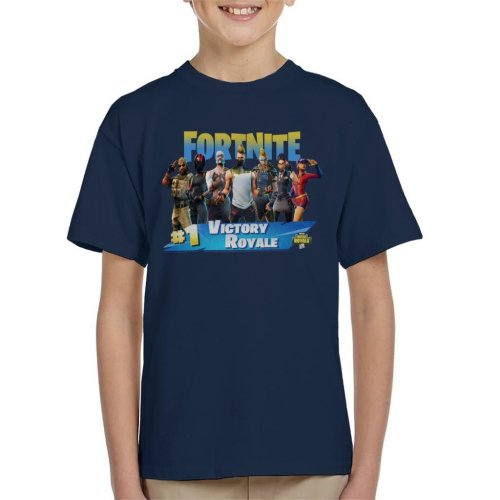 Fortnite Victory Battle Royale No 1 Kid's T-Shirt