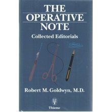 The Operative Note: Collected Editorials