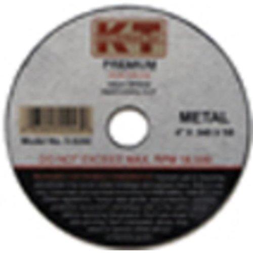 KT Industries 395923311 25000 Premium Reinforced Cut-Off Wheel - 3 x 0.040 x 0.37 in.