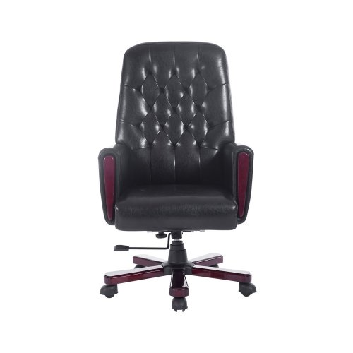 Homcom Pu High Back Executive Chair Computer Pc Office Seat Swivel Adjustable