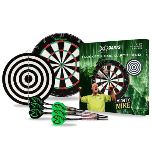 XQmax Darts MvG Dartboard Set 2 cm Bristle QD4000010