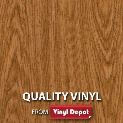 d-c-fix Sticky Decor Self-Adhesive Wood Vinyl Fablon Oak Light 900mm/m