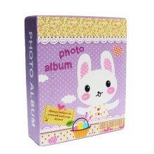 Creative Inset Photo Memory Book/Album of Baby's First 5 Years(Purple Rabbit)