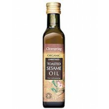 Clearspring Organic Toasted Sesame Oil 250ml