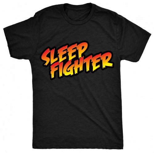 8TN Sleep Fighter - Parody Mens T Shirt