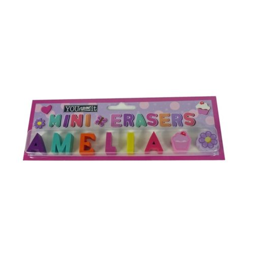Childrens Mini Erasers - Amelia