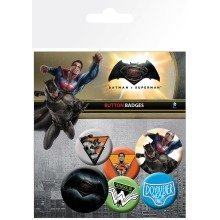 Batman Vs Superman Mix Badge Pack