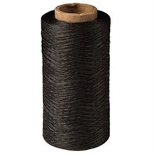 Waxed Thread 138 Fine 595 Yards (544 M) Black 1206-11 Made In The Usa By Tandy -