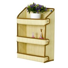 Fashion Wall Shelf Cosmetic folding Display Organizer Buggy Bags Grain Pattern