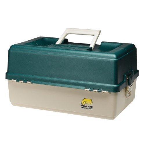 Plano 6 Tray Tackle Box 76 Comp Green Bge 9606