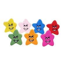 Creative Office Item/ Cute Smiling Star Shaped Pushpins Drawing Pin, 15Pcs