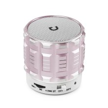 Wireless Bluetooth Portable Speakers - Rose Gold