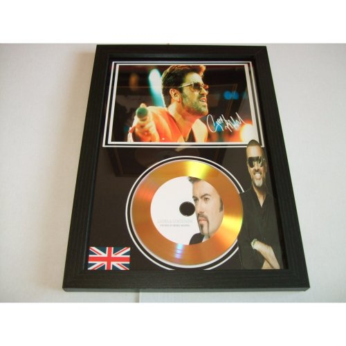 GEORGE MICHAEL SIGNED DISC