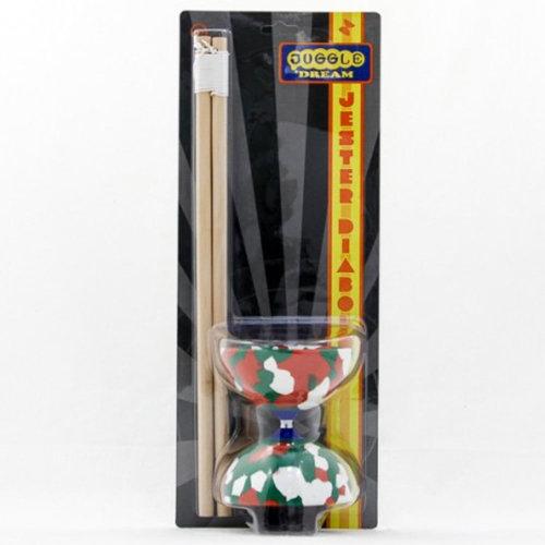 Juggle Dream Jester Diabolo and Wooden Sticks