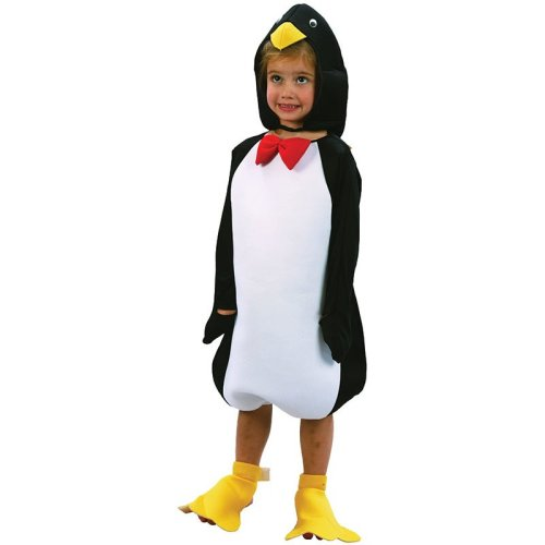 Toddlers Penguin Hat, Jumpsuit & Foot Covers Costume -  fancy dress penguin costume toddler animal years book week child outfit