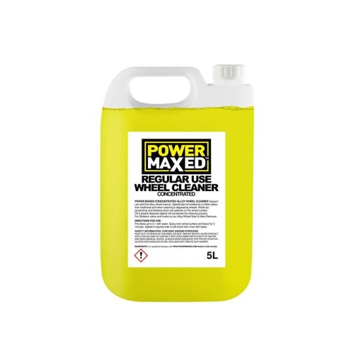 Power Maxed Frequent Use Non-Acidic Wheel Cleaner 5.0Ltr Concentrate