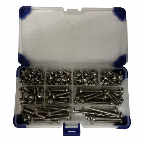 AHC K-10024 M4 Stainless Steel Pozi Pan Machine A2 (275-Piece)