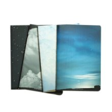 Creative School Supplies/Set Of 4 Sky Various Series Subject Notebooks