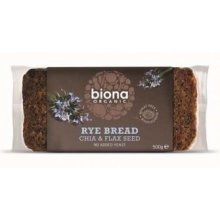 Biona - Rye Chia & Flaxseed Bread