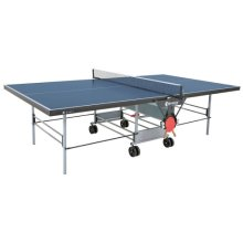 Sponeta Table Tennis Table Sportline Rollaway Blue with a 19mm Top