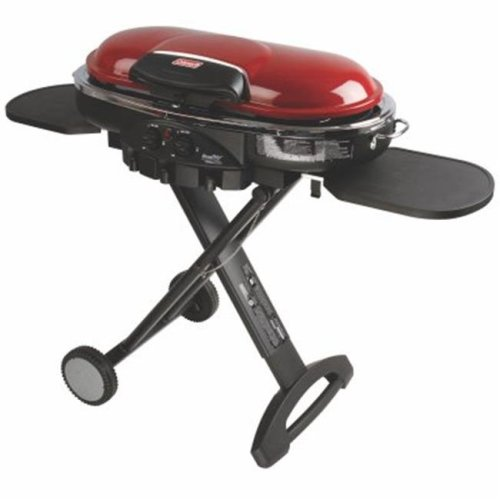 Coleman 245967 225 sq. in. Roadtrip Red Gas Grill