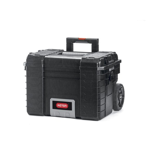Keter 17200383 KET17200383 Pro Gear Mobile System Case, Black