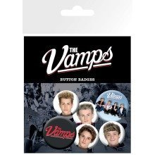 The Vamps Studio Badge Pack