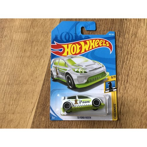 Hot Wheels 2018 Checkmate '12 Ford Fiesta #263