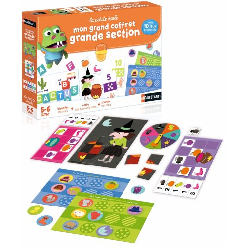 Nathan Scientific and educational game–Large Section Set