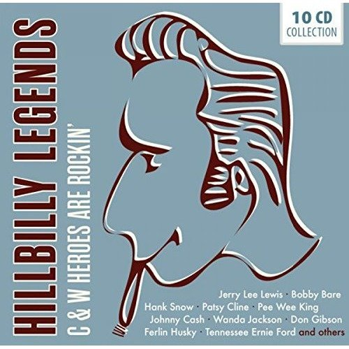 Hillbilly Legends [CD]