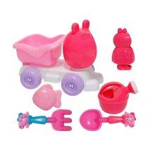 Beach Toys Set Child Dredging Tools-06/Pink Little Pig