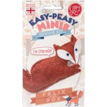 The Crafty Kit Co. Easy-Peasy Mini Sewing Kit-Felix The Fox