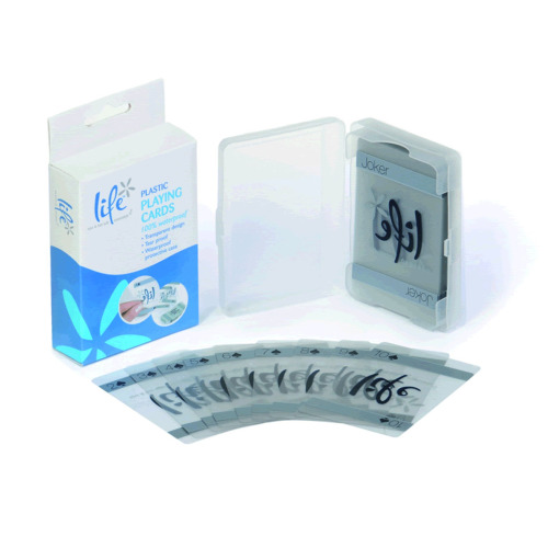 Life Waterproof Plastic Playing Cards | Pool & Hot Tub Playing Cards