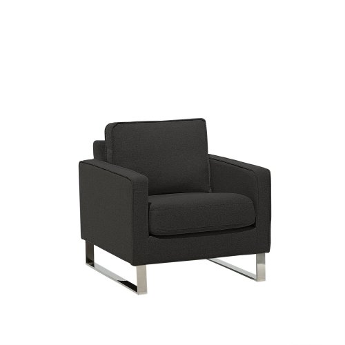 Fabric Armchair Graphite Grey VIND