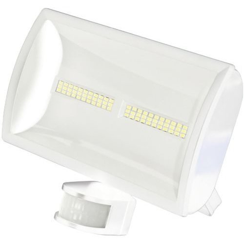 FLOODLIGHT 30W LED W/A WHITE LEDX30PIRWH By TIMEGUARD