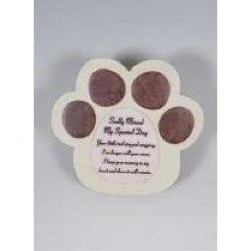 Dog Memorial Paw