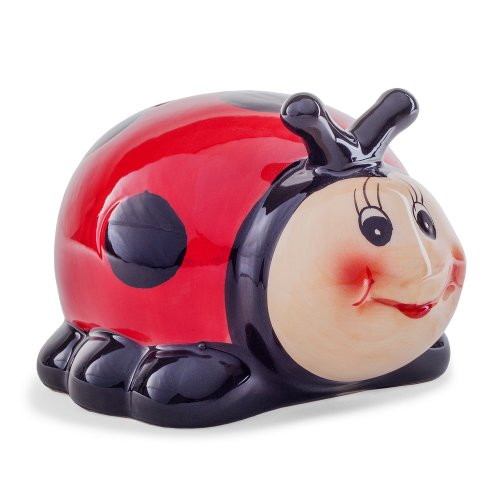 Ceramic Ladybird Money Box Children's Gift Idea