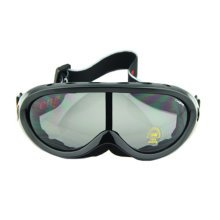 Snow Goggles Windproof Eyewear Ski Sports Goggle Protective Glasses Black/Grey