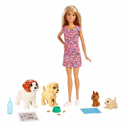 Barbie FXH08 Doggy Daycare Doll,