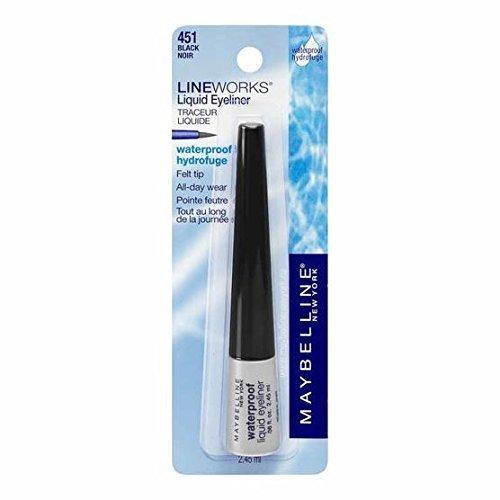 Maybelline Lineworks Liquid Eyeliner Black 451