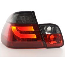 Led Taillights BMW serie 3 E46 saloon Year 02-05 red/black