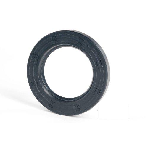 6x12x5mm Oil Seal Nitrile R21 Single Lip Springless 2 Pack