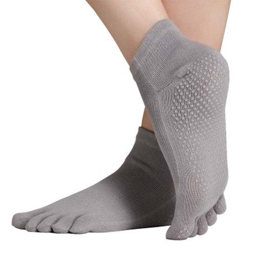 Five-finger Cotton Sports Socks Soft Non-slip New Design Yoga Socks #18