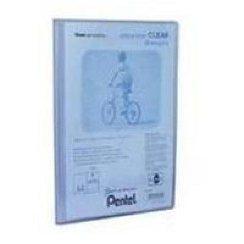 Pentel Display Book Clear Blue personal organizer