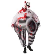 Creepy Inflatable Clown Costume