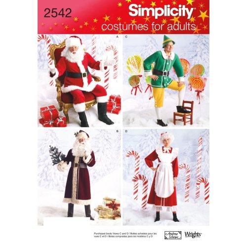 SIMPLICITY CRAFTS COSTUMES-XS-S-M