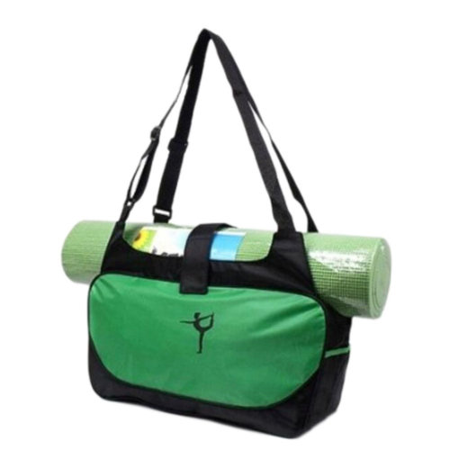 Outdoor Sport Bag Waterproof Training Yoga Bag Thicken Exercise Yoga Mat Bag-Green