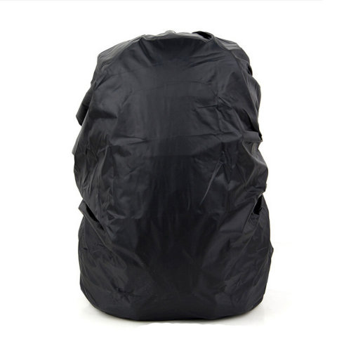 Set of 2 [BLACK] Camping/Hiking Ultrathin Water-proof Backpack Rain Cover,45-55L