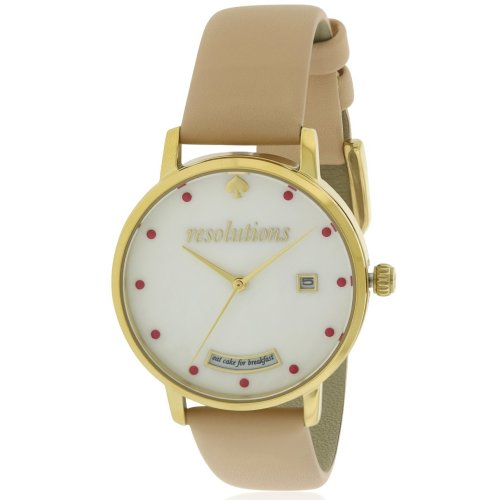 Kate Spade Metro Vachetta Leather Ladies Watch KSW1236